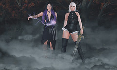 Whatever is coming, we are ready (Violet.Inaka) Tags: moon witch candydoll rama laboheme elixir annex fgc spellbound maitreya whitewidow thedressingroom thewitcher catwa elikatira weloveroleplay synystercreations edstore