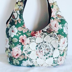 IMG_20160413_131256 (Roxy Creations) Tags: flowers floral vintage bag french handmade antique sewing fabric handbag tote shoulderbag