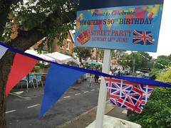 HM Queen 90th Birthday street party! (turini2) Tags: road birthday street party june her 90th queen woodside majesty 2016