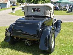 1928 Ford roadster (SteveMather) Tags: 1928 ford model a roadster full canvas top windows vintagestreetroddersofamerica vsra ohio nationals medina 2016 pre1949 hot rod trunk