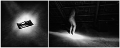 (Antonio Gutirrez Pereira) Tags: portrait blackandwhite blancoynegro blanco retrato surreal conceptual autorretrato composicion surrealismo concepto antoniogutierrezfotografia dinamocoworking