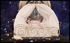 Dreams Come True ft. Paper Damsels (delisadventures) Tags: baby color cute me fashion paper bed bedroom princess adorable sl secondlife cmc damsels colormecute paperdamsels