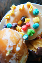 The twister doughnut - Yummy! (polina.fearon) Tags: sf food dessert yummy yum sweet sugar delicious mmm donut doughnut