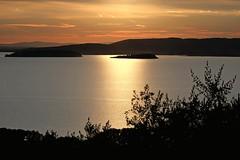 Effect on the lake (enzo rettori) Tags: trasimeno lake lago umbria perugia magione sunset effect reflection twilight
