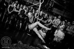 Kasia Zawadzka performing at Torture Garden Italy ([Sushi]) Tags: fetish performing bondage rope bdsm latex performer corde corda kasiazawadzka
