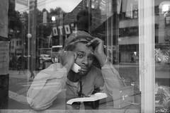 (Claudio Blanc) Tags: street blackandwhite blancoynegro buenosaires retrato streetphotography reflejo fotografiacallejera