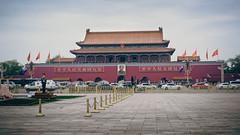 Tiananmen Square 04 (Barthmich) Tags: voyage china trip fuji beijing journey fujifilm  1855mm  fujinon chine lightroom xf pkin xe2 fujixe2