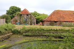 Salt Houses, Pennington (Carneddau) Tags: pennington salthouse southcoastpath mosesdock milfordonseatolymington
