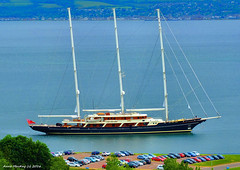 Scotland Greenock SY Eos one of the worlds largest three mast sailing yachts returning to port 20 June 2016 by Anne MacKay (Anne MacKay images of interest & wonder) Tags: june by river anne eos scotland clyde greenock three sailing picture mackay mast yachts 20 sy 2016 xs1