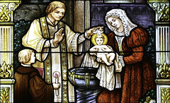 Baptised in Christ (Lawrence OP) Tags: windows sisters star nashville stainedglass baptism font blessed stdominic dominicans janedeaza
