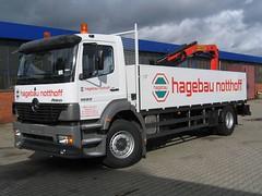 MB Atego 1823 (Vehicle Tim) Tags: truck mercedes kran mb fahrzeug lkw atego pritsche