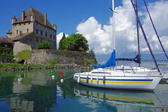 Yvoire (Haute-Savoie) : le chteau (bernarddelefosse) Tags: france rhnealpes hautesavoie yvoire laclman chteau