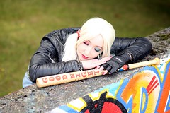 Harley Quinn Shoot with Elvenia Cosplay 010 (berserker244) Tags: streetart eindhoven graffitti batman dccomics harleyquinn berenkuil insulindeplein guerrillaphotography yggdrasilphotography evandijk harleenfrancesquinzel yggdrasilphotography50062016
