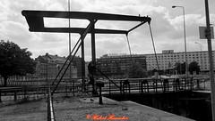 Alte Hafenanlage Maastricht (hubert_hamacher) Tags: maastricht schwarzweiss weiss alte schwaz schwarzweis hafenanlage