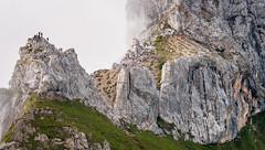 R_017  Klettersteig im Rofangebirge (wenzelfickert) Tags: people mountains fog landscape austria tirol sterreich nebel menschen berge alpen mountaineer klettersteig ferrata bergsteiger rofangebirge bergmassiv brandenbergeralpen