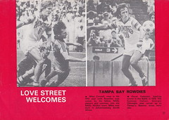 St Mirren vs Tampa Bay Rowdies - 1980 - Back Cover Page (The Sky Strikers) Tags: street love st tampa bay official exhibition match paisley programme rowdies mirren 25p