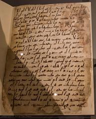7th century Koran (Tex Texin) Tags: uk art museum writing birmingham gallery unitedkingdom historic arabic bible script koran 7thcentury hijzai