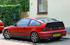 1993 Honda Civic Coupe CRX 1.6 DOHC (Dirk A.) Tags: sidecode5 zgsz46 1993 honda civic coupe crx 16 dohc worldcars