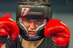 A Girl Who Fights At Krav Maga Reborn In Salt Lake City, Utah (danielmedley) Tags: city lake girl sport utah fight nikon salt strong fighting spar maga sparring reborn krav d5200