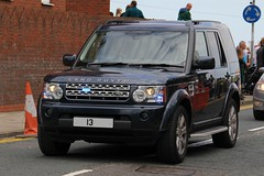 Metropolitan Police Unmarked Land Rover Discovery 4 Royalty Protection Group (PFB-999) Tags: car disco day 4x4 4 group police rover national covert land vehicle leds service met discovery protection metropolitan royalty cleethorpes forces grilles unit armed unmarked mps 2016 fendoffs