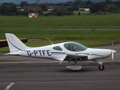 G-PTFE Bristell (Aircaft @ Gloucestershire Airport By James) Tags: james airport gloucestershire lloyds egbj bristell gptfe