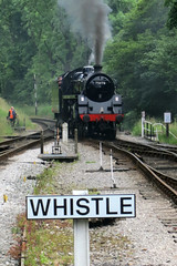 Whistle (Jon Pinder) Tags: canon tracks trains powershot s100 kwvr