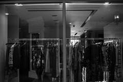 fashion (zumponer) Tags: city urban reflection fashion contrast canon 50mm blackwhite store florida clothes fullframe dslr palmbeach wealth worthavenue canon5dmarkii