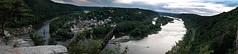 Harper/s Ferry,WV (Ogre Spec) Tags: panoramic vista overlook new recent view landscape harpersferry river cliffs railroad bridge historic epic