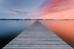 "Sunset at Valkenburgsemeer • <a style=""font-size:0.8em;"" href=""https://www.flickr.com/photos/30186070@N06/8715837559/"" target=""_blank"">View on Flickr</a>"