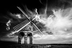 Chesterton Windmill, Warwickshire (Davoud D.) Tags: uk sunset mill windmill clouds ir infrared hdr warwickshire fauxir chestertonwindmill fosseway siredwardpeyto chestertonmanorhouse