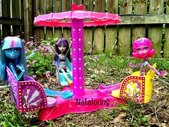 Twirl & Spin (Nataloons) Tags: park carnival ice girl monster toy amusement high doll ride outdoor spin barbie twirl blob recreation mummy mattel playset createamonster monsterhigh uploaded:by=flickrmobile flickriosapp:filter=nofilter