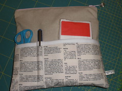 PLPS7 finished pouch - back pockets (amyinuk) Tags: linen pouch pockets plps textfabric