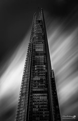 The Pinnacle (LeePellingPhotography.co.uk) Tags: london architecture mono big stop filter le lee nd ten pro shard stopper siver effex nd110
