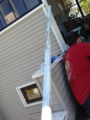 Porch Rail (lisawiz) Tags: sand paint steps repair porch homeimprovement