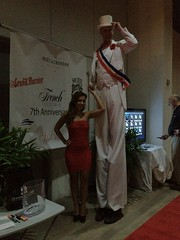 (Tim4Hire) Tags: florida miami circus entertainer miamibeach stiltwalker southflorida dade whitetuxedo wwwtim4hirecom