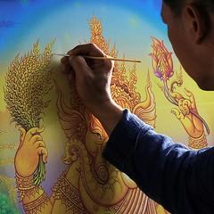 ภาพชุดข้าวทิพย์ของ อ.เฉลิมชัย โฆษิตพิพัฒน์ Location : วัดร่องขุ่น จ.เชียงราย (Wat Rong Khun) Chiang Rai, Thailand