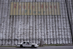 don't.steal.from.the.rich (jonathancastellino) Tags: ontario abandoned car factory decay security silo irony silos flour derelict cruiser robinhood
