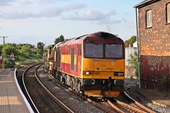 60065 @ oakham with 6L15 toton to whitemoor departmental (Photography by Iain Wright) Tags: class60 6l15