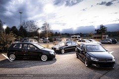 GeneVag (Massiglia Pierre) Tags: 3 car vw golf suisse low static gti rs bbs polo rf stance rm genneration polow bbsrs rencard stancework genevag