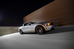 One Mean 6 (Dalton Radcliffe) Tags: arizona blur ford night photography nikon long exposure angle wide tokina rig scottsdale mustang manfrotto v6 saleen d800 amr avenger 14mm eibach rtr