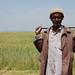 Field worker in Ethiopia