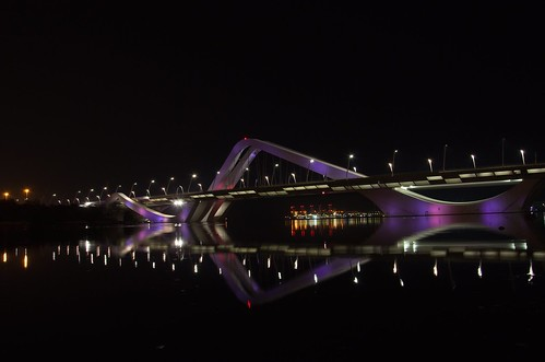 Sheikh Zayed Bridge 1 ©  Still ePsiLoN