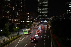 DSC04487.jpg (ntstnori) Tags: building bus car tokyo vehicle nightview koto toyosu