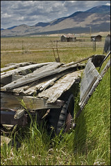 Goin for a ride (The Surveyor) Tags: newmexico abandoned antique cart nm eaglenest