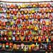 Una moltitudine di maschere (Chichicastenango)