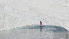 Pamukkale: Woman vs Nature