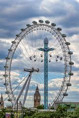 Flying high on the Southbank (Dave Pearce (London)) Tags: london eye canon big energy ride ben southbank funfair f28 mkii edf 2470 5dmkiii