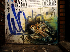 BASIC INCOME (takphoto) Tags: street art side east