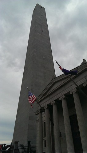 Bunker Hill Monument - 294 stairs!