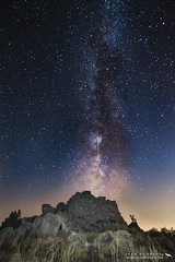 milky way and meteor (wildlifemoments) Tags: sardegna stella night way photography sardinia nightscape via sa monte milky starry meteor meteora stelle nuraghe cadente perseid lattea cresia fraigada